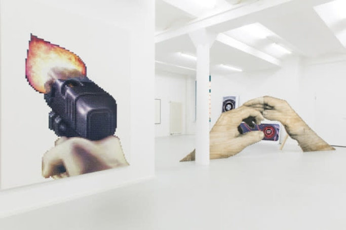 'Duke Nukem 3D' and leaked Yahoo passwords pass for art at this gallery