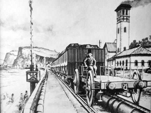 A brief history of when trains ran on air