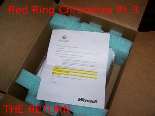 Red Ring Chronicles Pt 3: The Return
