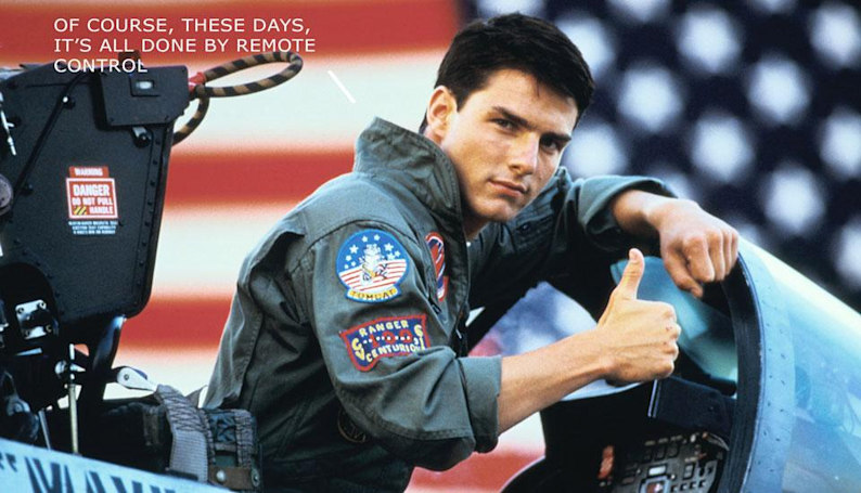 'Top Gun 2' will pit Tom Cruise against drones
