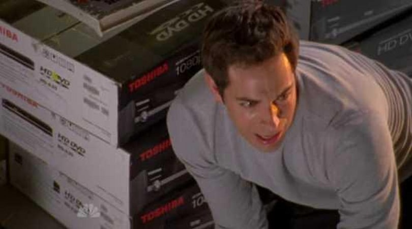 Screen Grabs: Chuck cowers in the HD-DVD graveyard