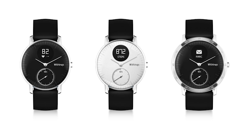 Withings launches its first watch with heart rate monitoring