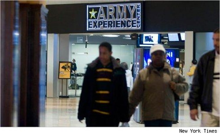 Army using arcades to find new recruits