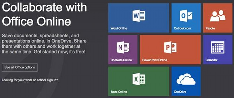 Microsoft rebrands Office Web Apps as Office Online because it's an online version of Office