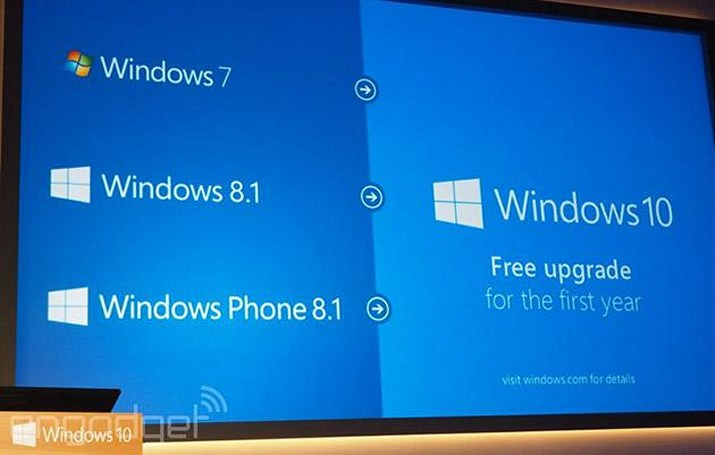 Surface RT will only get some of Windows 10's upgrades