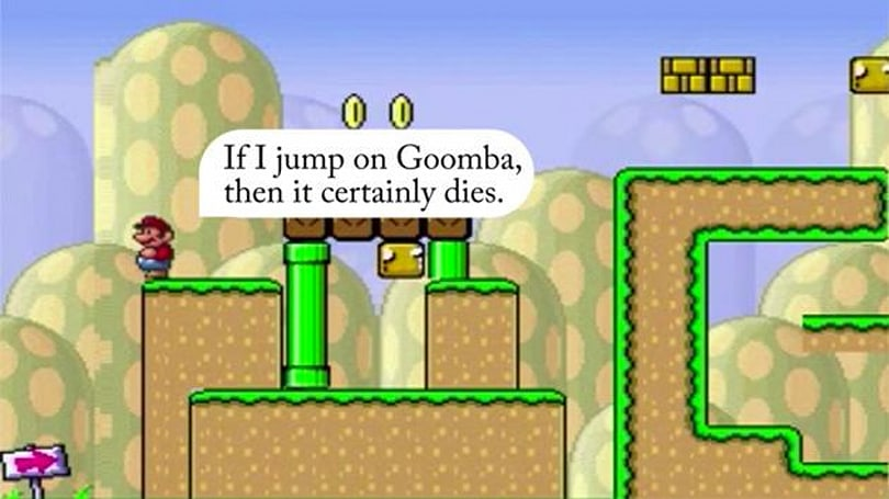 Super Mario AI learns how to play by listening to your advice
