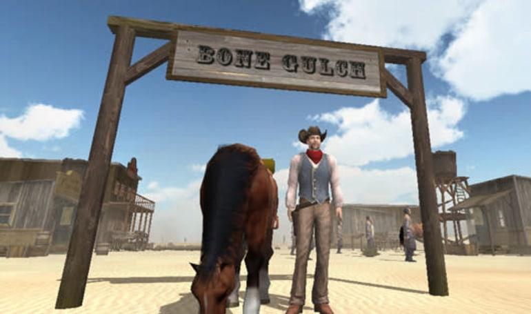 Bone Gulch is a Wild West online sandbox with a Kickstarter campaign