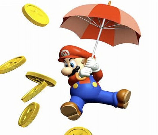 Mario's all about that money