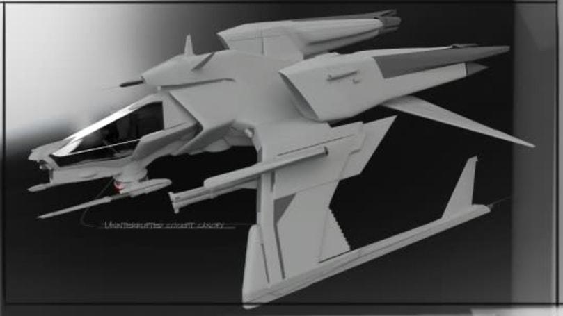 Star Citizen explains its ship design pipeline