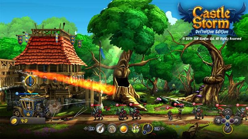 CastleStorm: Definitive Edition catapults to Xbox One, PS4 next week