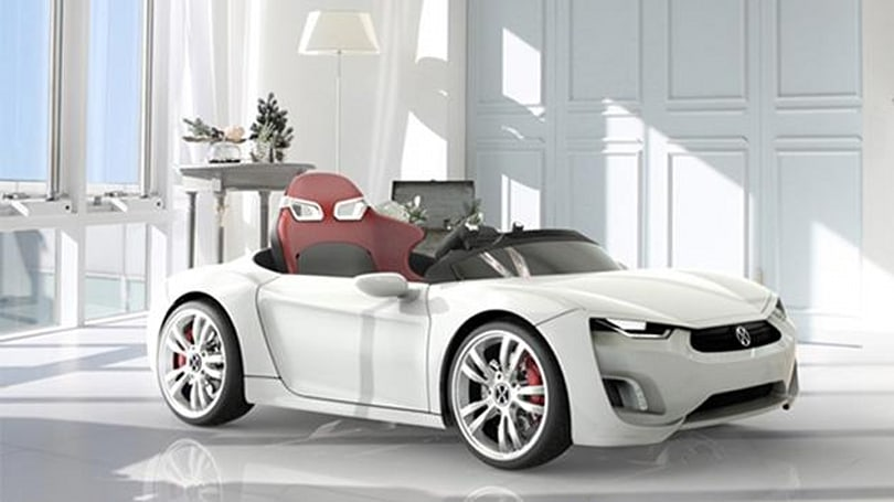 Your kids can drive this electric, Android-equipped 'sports car'