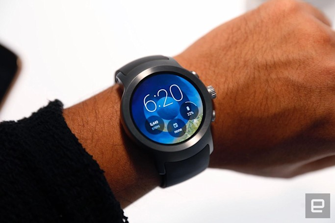 You can't get an LG Watch Sport on Verizon after all