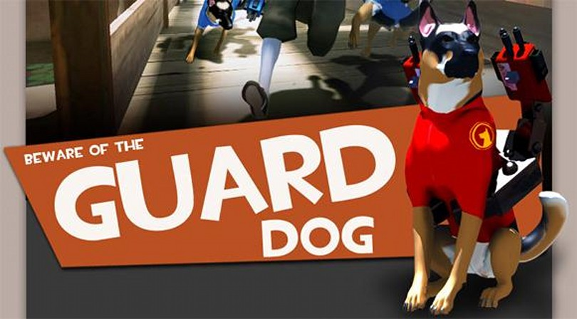 Valve commends Team Fortress 2 'Guard Dog' concept creator