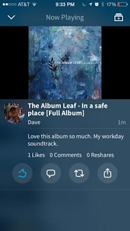 Musx is a handy music sharing app for iPhone