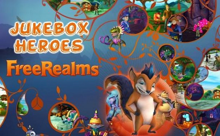 Jukebox Heroes: Free Realms' soundtrack