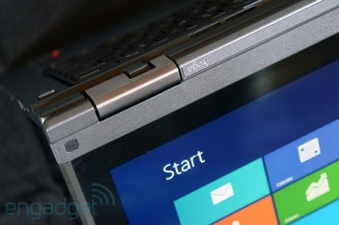 Lenovo's ThinkPad Yoga has a keyboard that flattens when you use it in tablet mode (update: video)