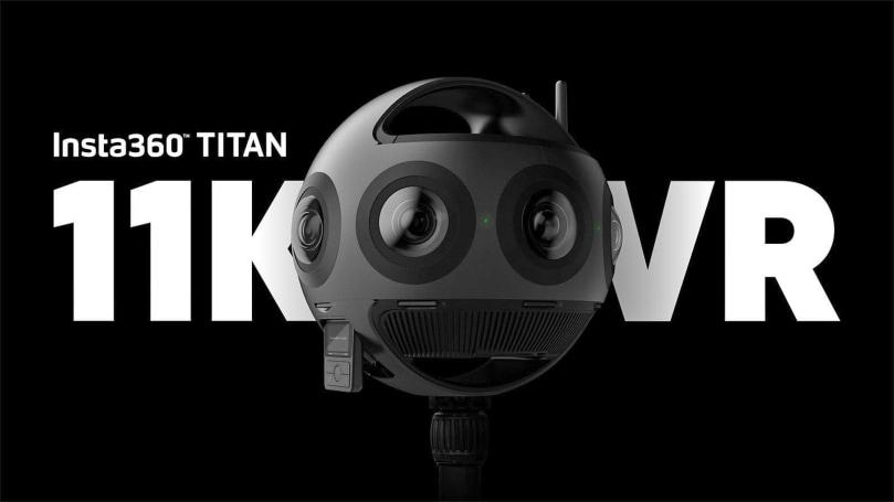 Insta360 Titan is an 11K, eight-lens beast of a VR camera