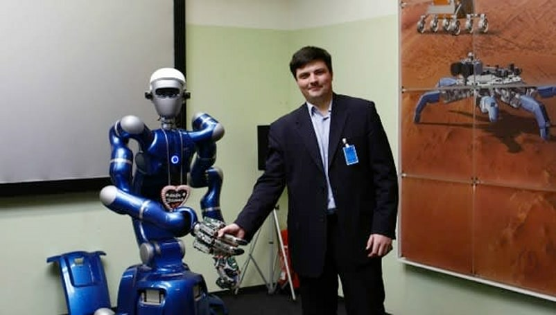 Ford studies space robots to improve communication with connected cars