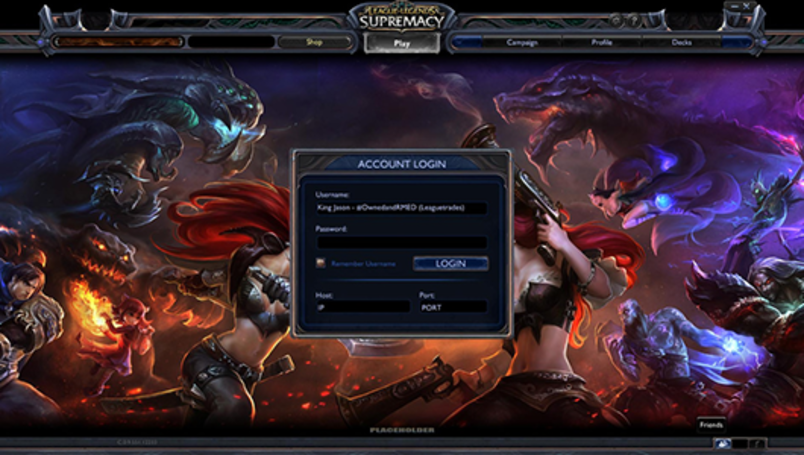 Hacker reveals League of Legends collectible card game