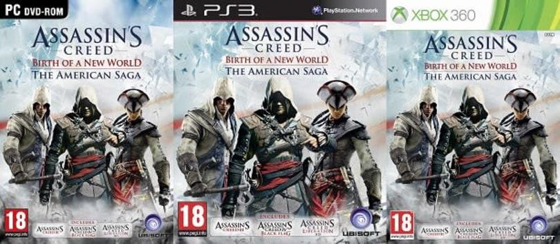 Assassin's Creed bundles up its American saga for October