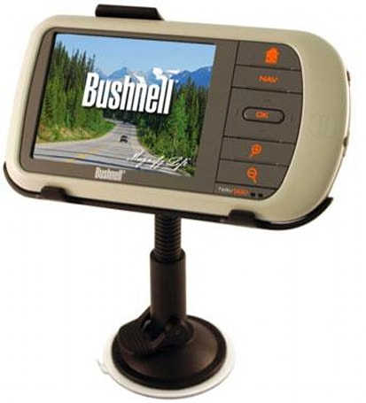 Bushnell unveils trio of handheld / car-based GPS units
