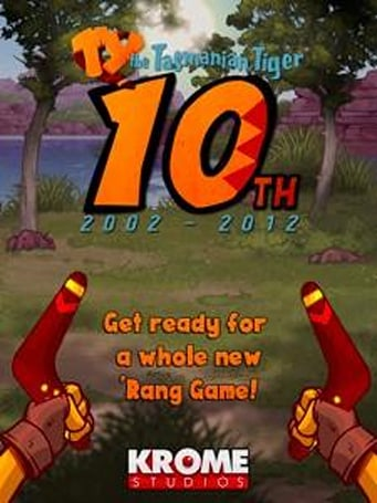 Ty the Tasmanian Tiger returning for his tenth anniversary
