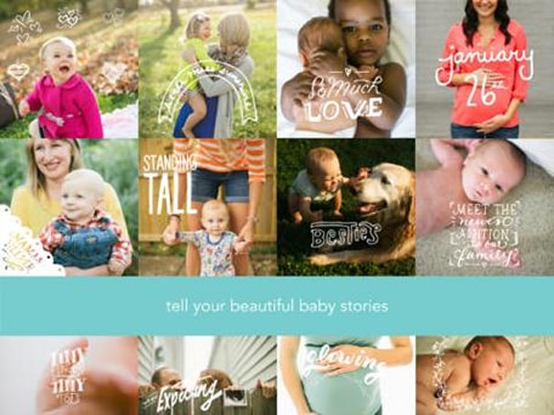 Daily App: Obaby is a photo-illustration tool for busy parents