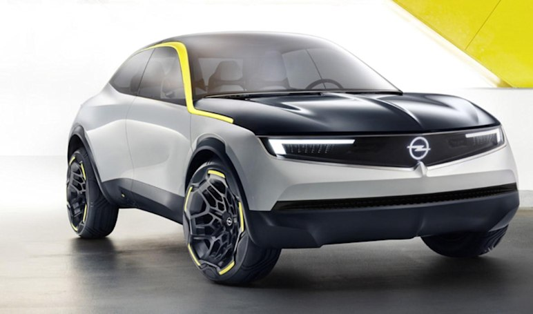 Opel's new EV concept is a stylish take on the compact SUV