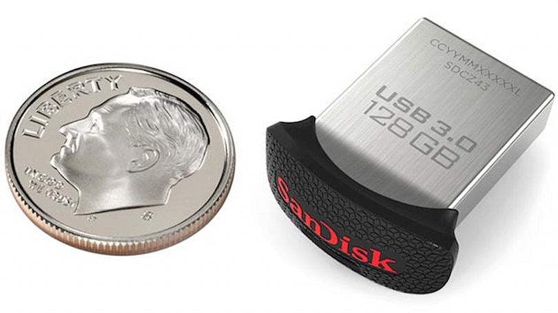 'World's smallest' USB 3.0 flash drive is about the size of a dime