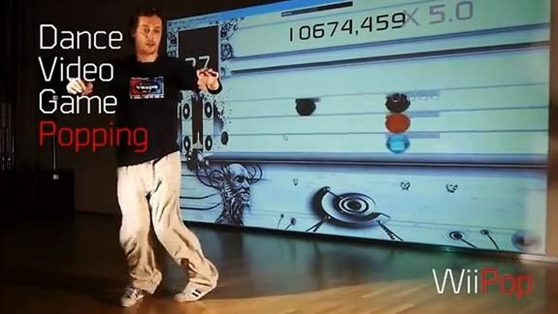 Wiipop incorporates Kinect camera and several Wiimotes into a veritable electric boogaloo