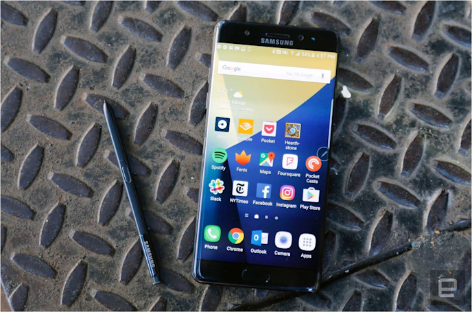 US consumer safety group recalls the Samsung Galaxy Note 7
