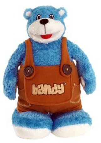 Bandy the MP3-playing teddy bear