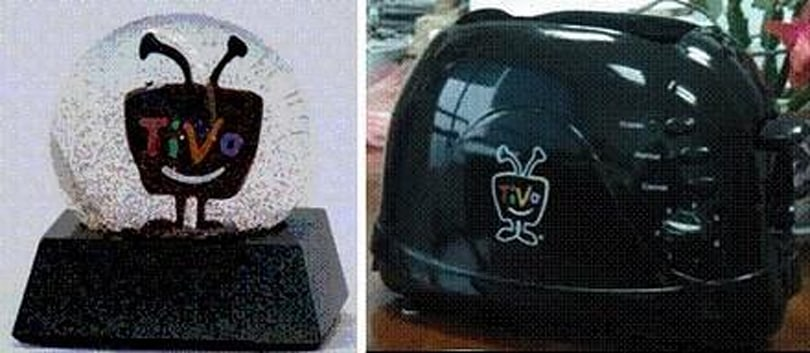 TiVo fundraising with self-branded toasters / snowglobes