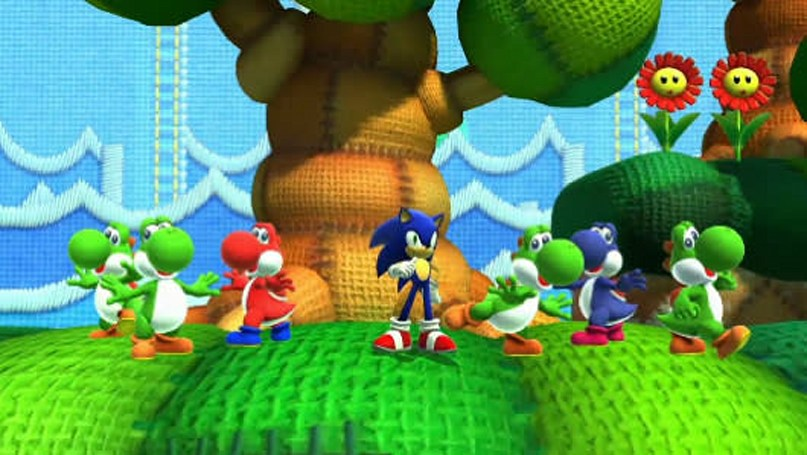 Yoshi's Island Zone is one of two Sonic: Lost World DLC stages, out now