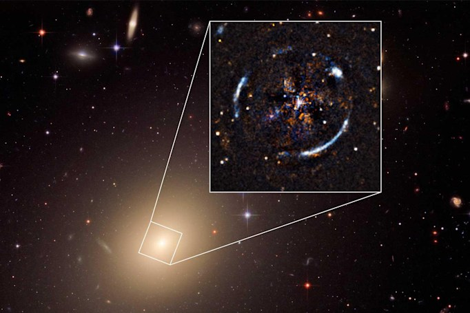 Scientists validate theory of relativity on galactic level
