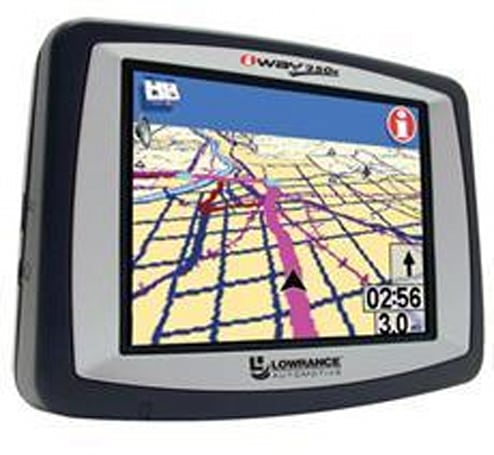 Lowrance announces budget iWay 250c