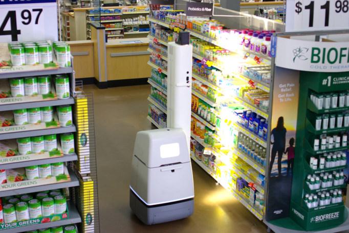 Walmart tests shelf-scanning robots in 50-plus stores