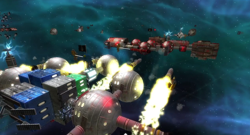 Habitat to turn space junk into spaceships on PS4