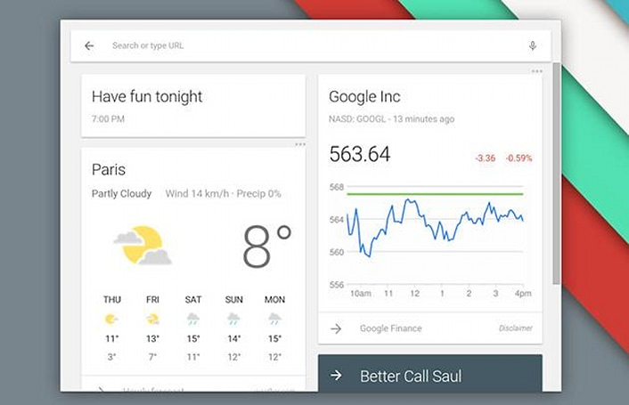 Chrome OS beta is getting a new launcher with Google Now