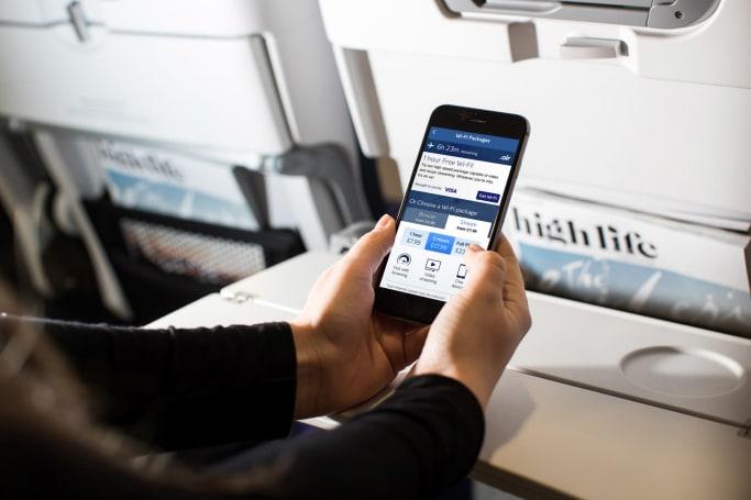 British Airways is finally offering onboard WiFi
