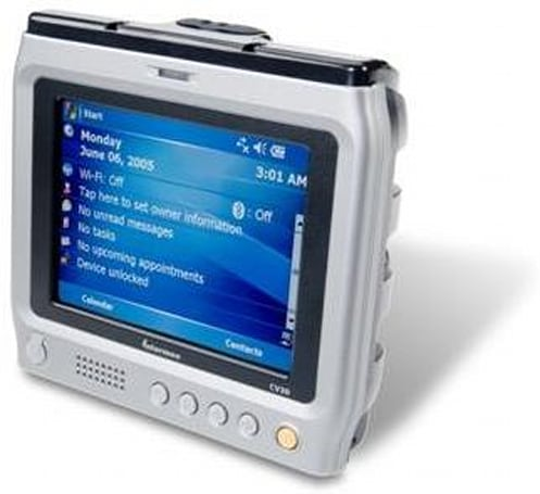 Intermec's rugged CV30 and handheld CN3