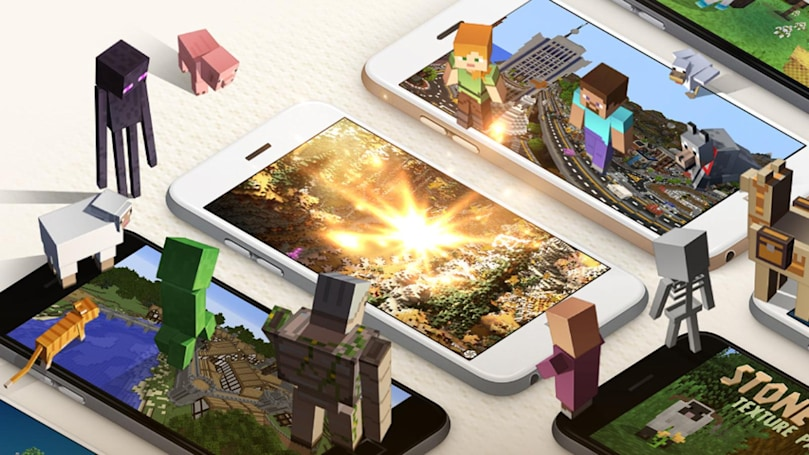 'Minecraft' adds a shop for mobile add-ons