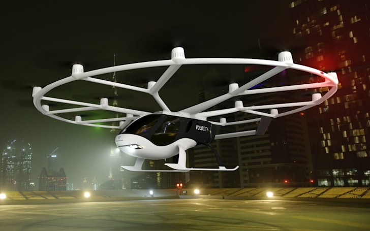 Volocopter reveals its first commercial autonomous flying taxi