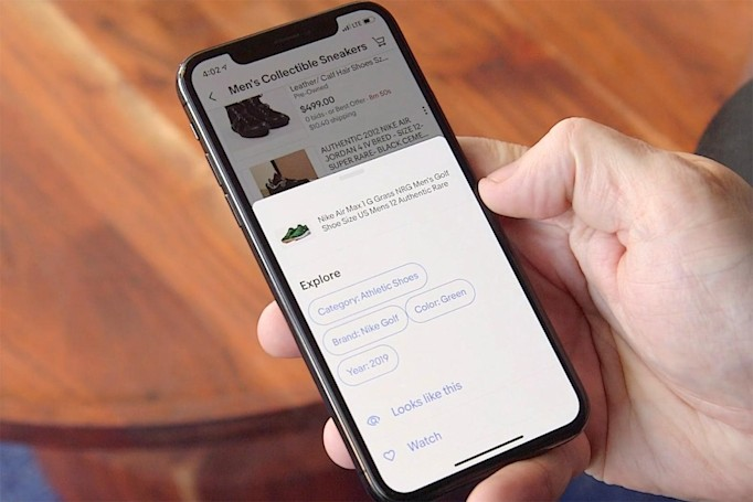 eBay uses AI to help you shop for similar-looking items