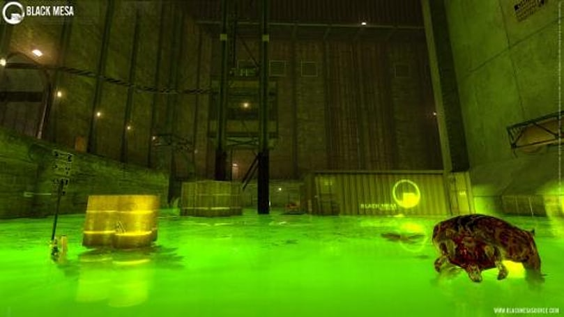 Half-Life revamp Black Mesa head(crab)s to Steam for a 'low price'