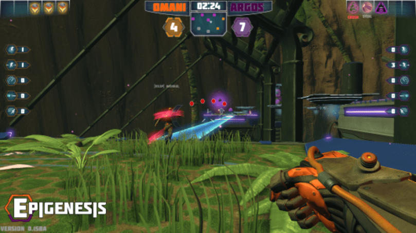 Cybernetic sports FPS Epigenesis gets new map, singleplayer mode