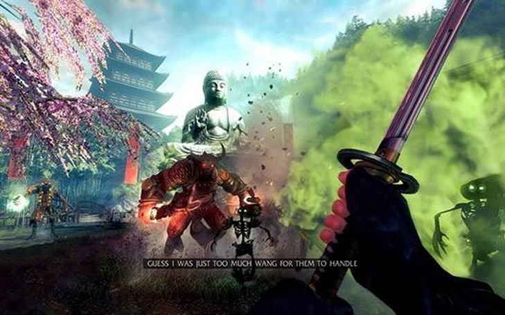 Shadow Warrior takes a swipe at PS4, Xbox One on October 21