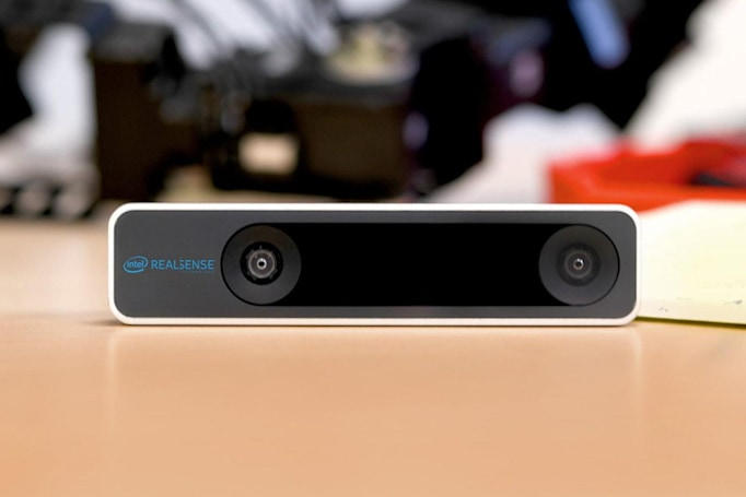 Intel RealSense tracking camera helps robots navigate without GPS
