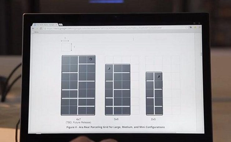 Here's another peek at Google's build-your-own-smartphone project