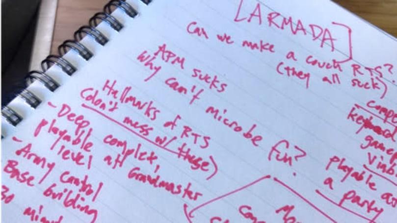 'Armada' is Monaco dev's new game, an RTS